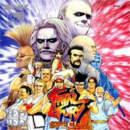 Box cover for Fatal Fury Special on the SNK Neo-Geo CD.