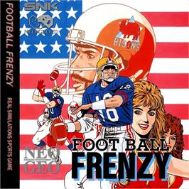 Box cover for Football Frenzy on the SNK Neo-Geo CD.