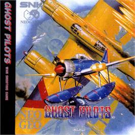 Box cover for Ghost Pilots on the SNK Neo-Geo CD.