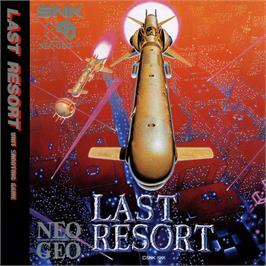 Box cover for Last Resort on the SNK Neo-Geo CD.