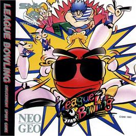 Box cover for League Bowling on the SNK Neo-Geo CD.