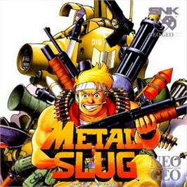 Box cover for Metal Slug: Super Vehicle-001 on the SNK Neo-Geo CD.