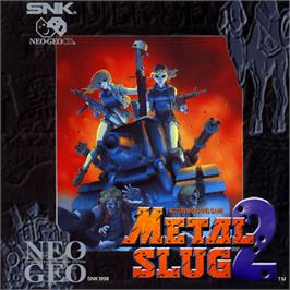 Box cover for Metal Slug 2 on the SNK Neo-Geo CD.