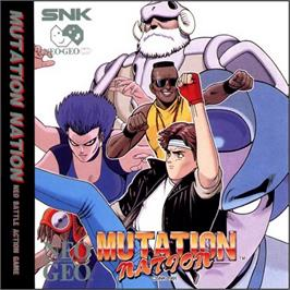 Box cover for Mutation Nation on the SNK Neo-Geo CD.