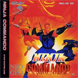 Box cover for Ninja Commando on the SNK Neo-Geo CD.