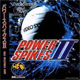 Box cover for Power Spikes II on the SNK Neo-Geo CD.