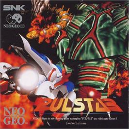Box cover for Pulstar on the SNK Neo-Geo CD.