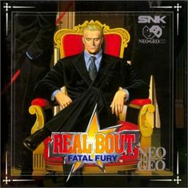 Box cover for Real Bout Fatal Fury on the SNK Neo-Geo CD.