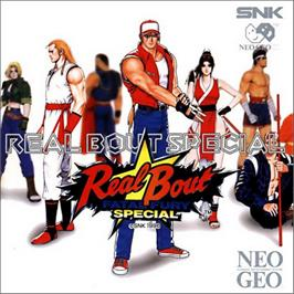 Box cover for Real Bout Fatal Fury Special on the SNK Neo-Geo CD.