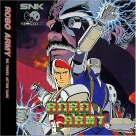 Box cover for Robo Army on the SNK Neo-Geo CD.
