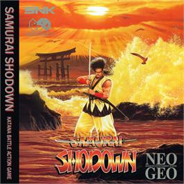 Box cover for Samurai Shodown on the SNK Neo-Geo CD.