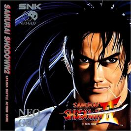 Box cover for Samurai Shodown II on the SNK Neo-Geo CD.