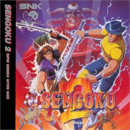 Box cover for Sengoku 2 on the SNK Neo-Geo CD.