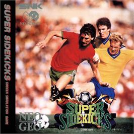 Box cover for Super Sidekicks on the SNK Neo-Geo CD.