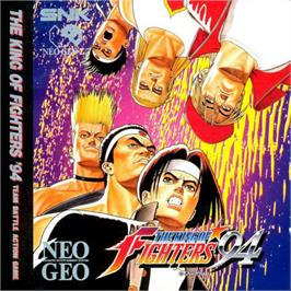 Box cover for The King of Fighters '94 on the SNK Neo-Geo CD.