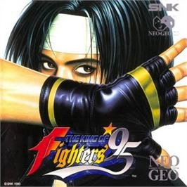 Box cover for The King of Fighters '95 on the SNK Neo-Geo CD.