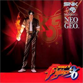 Box cover for The King of Fighters '96 on the SNK Neo-Geo CD.
