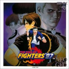 Box cover for The King of Fighters '97 on the SNK Neo-Geo CD.