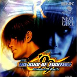 Box cover for The King of Fighters '99: Millennium Battle on the SNK Neo-Geo CD.