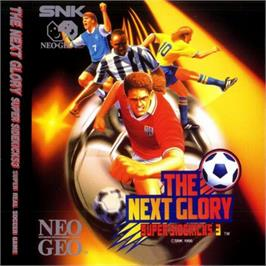 Box cover for The Next Glory: Super Sidekicks 3 on the SNK Neo-Geo CD.