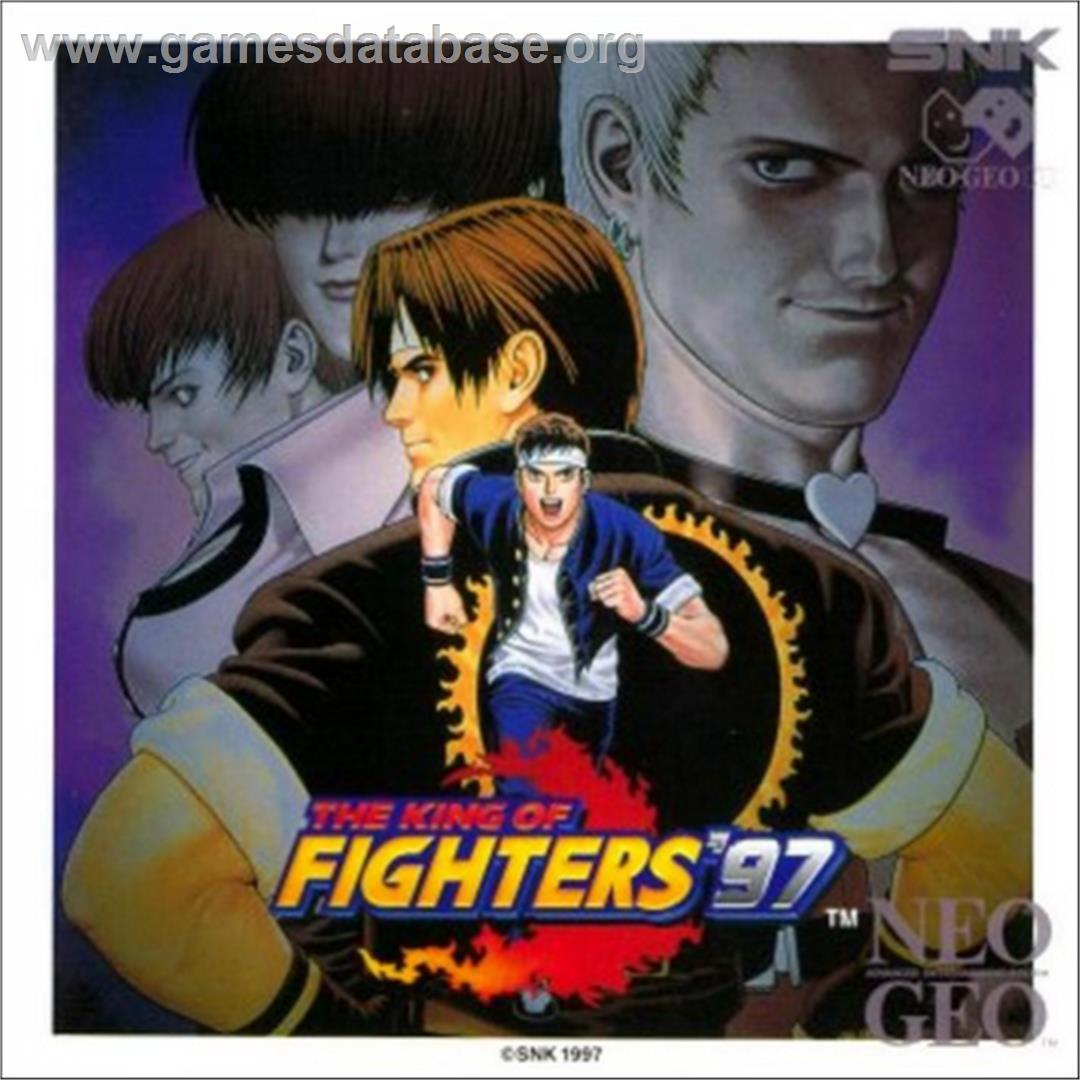 The King of Fighters '97 - SNK Neo-Geo CD - Artwork - Box