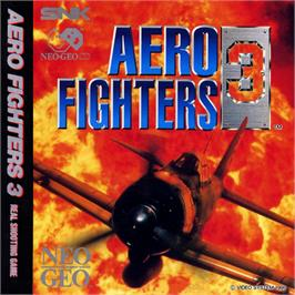 Box back cover for Aero Fighters 3 on the SNK Neo-Geo CD.