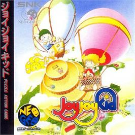 Box back cover for Joy Joy Kid on the SNK Neo-Geo CD.