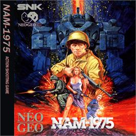 Box back cover for NAM-1975 on the SNK Neo-Geo CD.