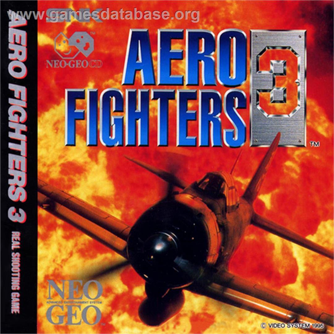 Aero Fighters 3 Snk Neo Geo Cd Artwork Box Back