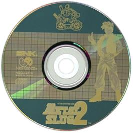 Artwork on the CD for Metal Slug 2 on the SNK Neo-Geo CD.