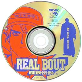Artwork on the CD for Real Bout Fatal Fury on the SNK Neo-Geo CD.