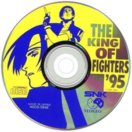 Artwork on the CD for The King of Fighters '95 on the SNK Neo-Geo CD.