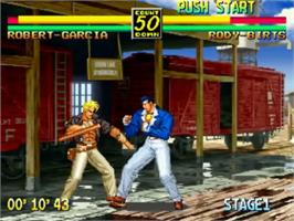Art Of Fighting 3 The Path Of The Warrior Snk Neo Geo Cd Games Database