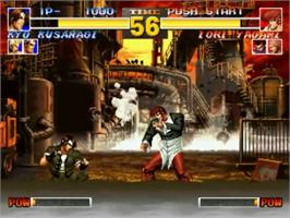 In game image of The King of Fighters '95 on the SNK Neo-Geo CD.