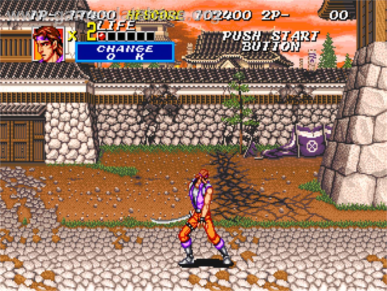Sengoku 2 - SNK Neo-Geo CD - Artwork - In Game