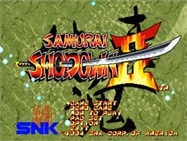 Collectibles 1994 Neo Geo Mvs Samurai Shodown Ii Artworks
