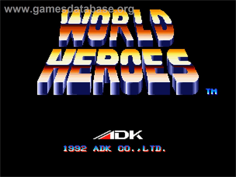geo aes snk neo geo mvs series world heroes 2 arcade world heroes 2