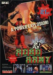 Advert for Robo Army on the SNK Neo-Geo CD.