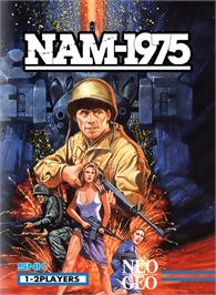 Box cover for NAM-1975 on the SNK Neo-Geo MVS.
