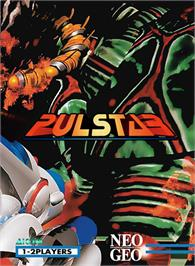 Box cover for Pulstar on the SNK Neo-Geo MVS.