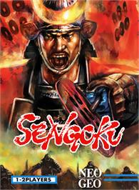 Box cover for Sengoku on the SNK Neo-Geo MVS.