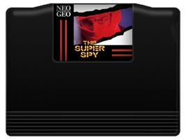 Cartridge artwork for The Super Spy on the SNK Neo-Geo MVS.