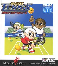 Box cover for Pocket Tennis!: Pocket Sports Series on the SNK Neo-Geo Pocket.