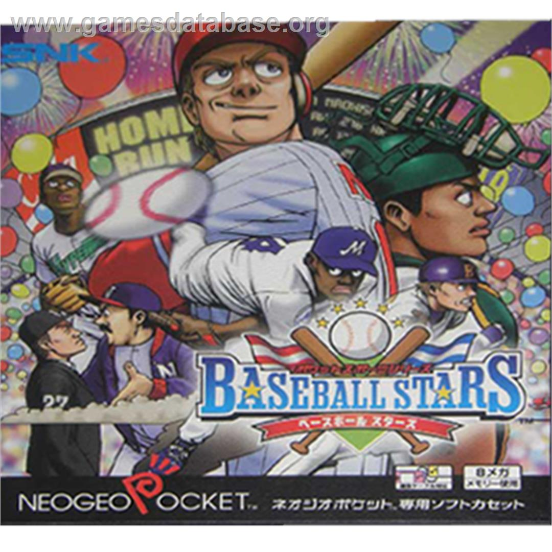 Box cover for Baseball Stars on the SNK Neo-Geo Pocket.