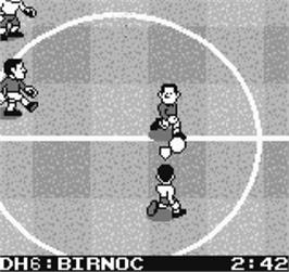 In game image of Neo-Geo Cup '98 - The Road to the Victory on the SNK Neo-Geo Pocket.