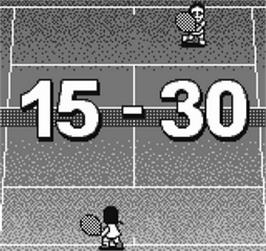 In game image of Pocket Tennis!: Pocket Sports Series on the SNK Neo-Geo Pocket.