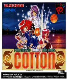 Box cover for Fantastic Night Dreams: Cotton on the SNK Neo-Geo Pocket Color.