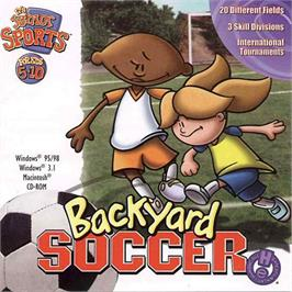 Box cover for Backyard Soccer on the ScummVM.