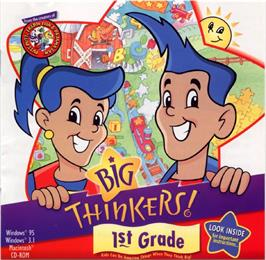 Box cover for Big Thinkers! First Grade on the ScummVM.