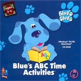 Box cover for Blue's Clues: Blue's ABC Time Activities on the ScummVM.
